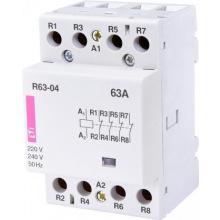 Контактор ETI R 63-04 230V AC 63A (AC1) (2463480)