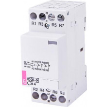 Контактор  ETI RD 25-04 (230V AC/DC) (AC1) (2464016)