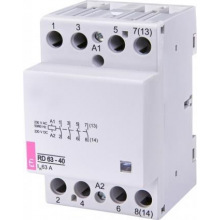 Контактор ETI RD 63-40 (230V AC/DC) (AC1) (2464026)
