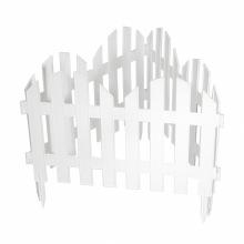 """Паркан декоративний """"Романтика"""", 28 х 300 см, білий, PALISAD (MIRI65020)"""