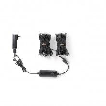 Twinkly 250 ламп (LED) , диаметр 5мм, матово-прозрачная плоская RGBW линза (TWS400SPP-BEU)