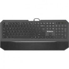Клавіатура Defender Oscar SM-600 Pro (45602) чорна USB (45602)