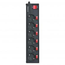 Фільтр живлення REAL-EL RS-6 EXTRA 5,0m чорний (EL122300003)