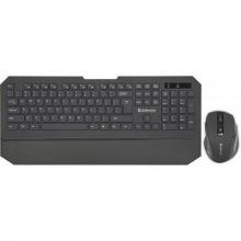 Клавіатура  + мишка Defender Berkeley C-925 Black (45925) USB (45925)