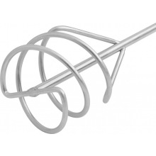 Міксер оцинкований для піщано-гравійних сумішей, 100 х 450 мм, хвостовик SDS Plus,  MTX (MIRI848279)