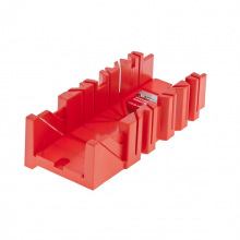 Стусло пластмасове 300 х 90 мм, 4 кута для запилу,  MTX (MIRI225479)