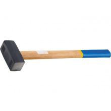 Кувалда кована 6000 г, дерев'яна ручка,  СИБРТЕХ (MIRI10933)