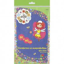 Серветки для підлоги фіолетові 500х600 мм,  Elfe (MIRI92331)