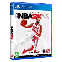 Програмний продукт на BD диску NBA 2K21 [PS4, English version] Blu-ray диск (5026555428491)
