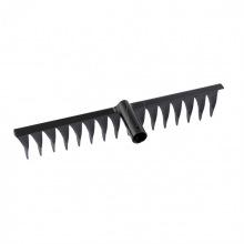 Граблі кручені 16-зубі, 420 мм, без держака,  СИБРТЕХ (MIRI61750)