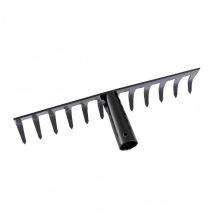 Граблі прямі 12-зубі, 300мм, без держака, Сибртех (MIRI61746)