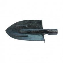 Лопата штикова з ребрами жорсткості, рейкова сталь, без держака,  СИБРТЕХ (MIRI61470)