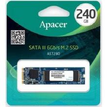 Твердотільний накопичувач SSD M.2 Apacer 240GB AST280 SATA 2280 TLC (AP240GAST280-1)