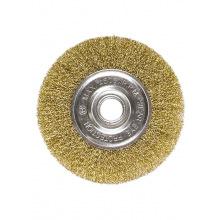Щітка для КШМ 125 мм, посадка 22.2 мм, плоска металева, MTX (MIRI746569)