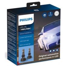 Лампа світлодіодна Philips HB3/HB4 Ultinon Pro9000 +250%, 2 шт/комплект (11005U90CWX2)
