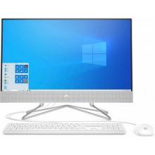Персональний комп'ютер-моноблок HP All-in-One 23.8FHD/Intel i5-10400T/8/1000/NVD330/kbm/DOS/White (158K3EA)
