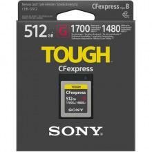 Карта памяти Sony CFexpress Type B 512GB R1700/W1480 (CEBG512.SYM)
