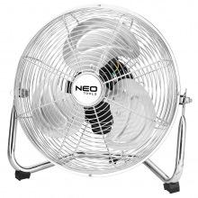 Вентилятор NEO напольный, профессиональный, 50Вт, диам. 30 см, 3 скорости, двигатель медь 100% (90-005)
