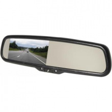 Зеркало с видеорегистратором, 4.3''WQVGA, FHD 25к/с 140 ° Wi-Fi MUW5000 (MUW5000)