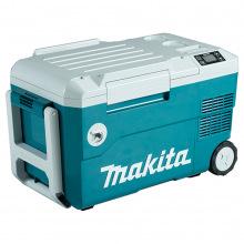Холодильник мобильный аккумуляторный Makita SET-DCW180-PT2 с функцией нагрева, 2акк, 20л,14.3кг (SET-DCW180-PT2)