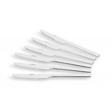 Набір столових ножів Ardesto Gemini Como 6 пр., нержавіюча сталь (AR1906CK)