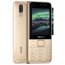 Мобiльний телефон Tecno T474 Dual Sim Champagne Gold (4895180747977) (4895180747977)