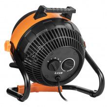 Обігрівач-вентилятор NEO TOOLS, 2 в 1, 2400 Вт, ручна модель, потік повітря - 460 м3 / год (90-070)