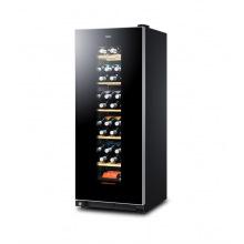 Винотека Haier 127 см/59 бутылок/А/температура 6-18 С/Led-индикация /6 полочек/черный (WS59GAE)