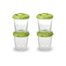 Набір контейнерів Nuvita для їжі і молока 4шт. 200мл. (NV1466)