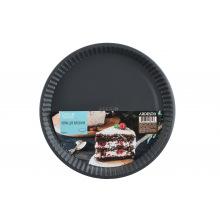 Форма для выпечки Ardesto Tasty baking 30*3 см круглая, серый,голубой, углеродистая сталь (AR2303T)