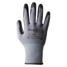 Перчатки NEO рабочие,  нейлон с покрытием нитрил, р. 8 (97-616-8)