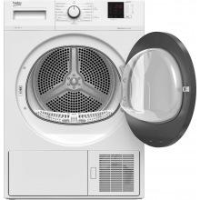 Сушильний барабан Beko DF7412PA - 46 см/7 кг/Heat-Pump/дисплей/15 прогр/A++/білий (DF7412PA)