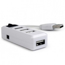 USB-хаб Gembird на 4 порта USB 2.0 UHB-U2P4-21