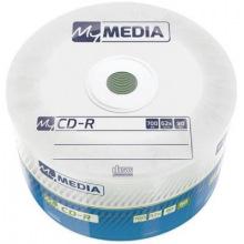 Диски CD-R MyMedia (69201) 700MB 52x Matt Silver Wrap 50шт (69201)