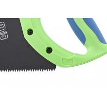 """Ножівка по дереву """"Зубець"""" 350 мм, 7-8 TPI, гартований зуб-2D, захисне покриття, двокомпонентна рукоятка, СИБРТЕХ (MIRI23809)"""