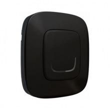 Розумний безпровідний вимикач Valena Allure with NETATMO 1-клавішний. Антрацит (752885)