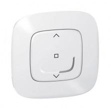 Розумний безпровідний вимикач жалюзі Valena Allure with NETATMO. Білий (752591)