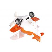 Самолет металлический инерционный Same Toy Aircraft оранжевый со светом и музыкой  (SY8012Ut-1)