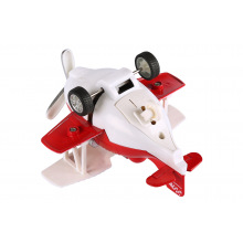 Самолет металлический инерционный Same Toy Aircraft красный со светом и музыкой  (SY8012Ut-3)