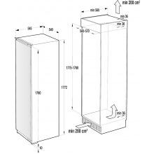 Холодильна шафа вбудована Gorenje RI 2181A1 (RI2181A1)