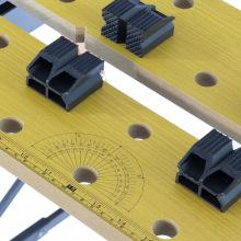 Верстат-лещата, 640 х 520 х 790 мм, портативний SPARTA (MIRI257055)