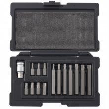 Набір біт TORX 10 мм, хвостовик 6-гранний, CrV, 15 предметів,   STELS (MIRI11315)