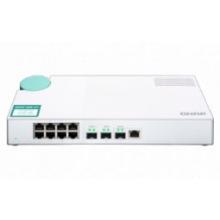 Некерований комутатор QNAP QSW-308-1C 2x10GbE SFP+ / 8x1GbE (RJ45) (QSW-308-1C)