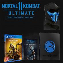 Програмний продукт на BD диску Mortal Kombat 11 Ultimate Kollector's Edition [PS4, Russian subtitles] (PSIV728)