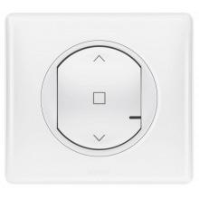 Розумний безпровідний вимикач жалюзі Celiane with NETATMO . Білий (067646)