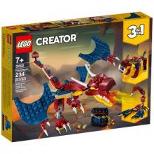 Конструктор LEGO Creator Огненный дракон (31102)