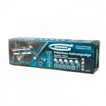 Стусло прецизійне, пила - 550 мм, 2 прижимні струбцини, обмежувальний упор,  GROSS (MIRI22757)