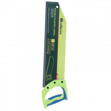 """Ножівка по дереву """"Зубець"""" 400 мм, крок зуба 10 мм, гартований зуб-2D, двокомпонентна рукоятка, СИБРТЕХ (MIRI23820)"""