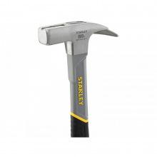 Молоток STANLEY 600г, для покрівельника, ручка скловолокно, на бойку магніт (STHT0-51311)