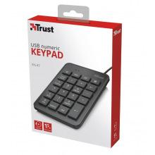 Клавіатура числова Trust Xalas USB Numeric Keypad BLACK (22221_TRUST)